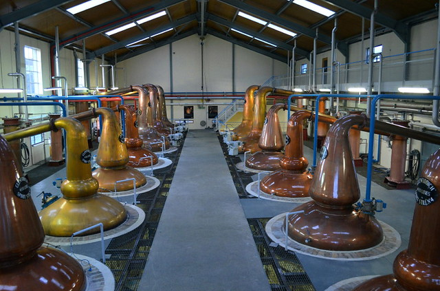 Glenfiddich Whisky Distillery in Dufftown - Distillation Process (Scotland)