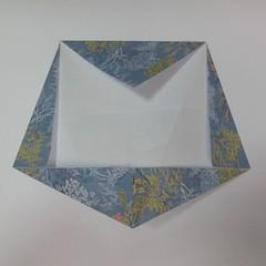 วิธีการพับกระดาษเป็นรูปม้า (Origami Horse) 028