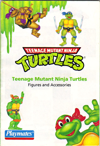 TEENAGE MUTANT NINJA TURTLES :: Collector's Guide iv (( 1993 ))