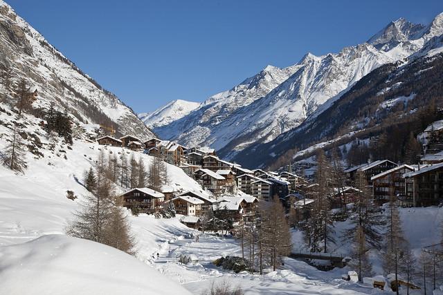 Zermatt by CC user kosalabandara on Flickr