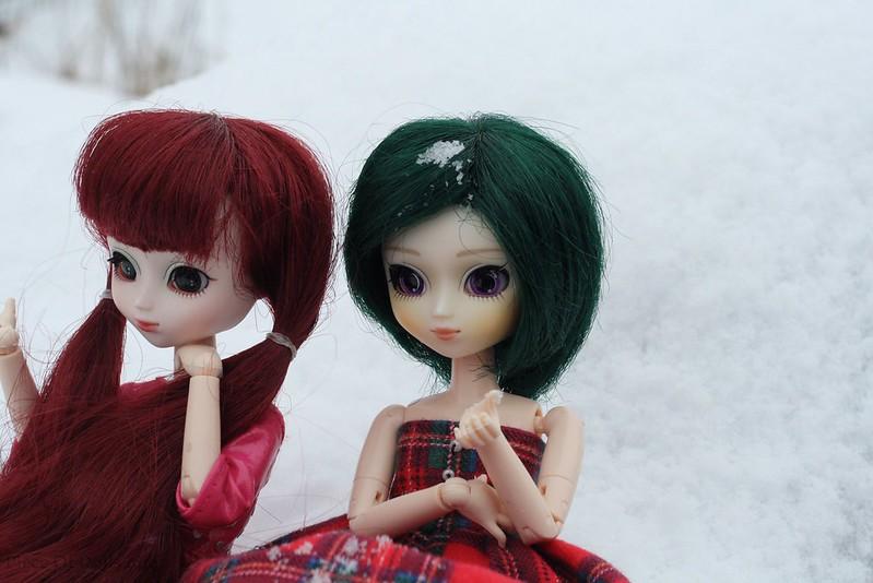 Snowy hairs