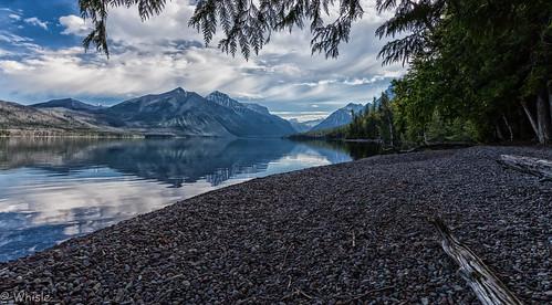 Early on Lake McDonald, Glacier, Montana [Explored]