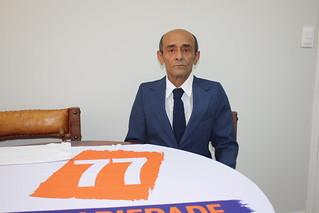 Reginaldo Santos, da Zona Leste de São Paulo, é pré-candidato a deputado federal pelo Solidariedade