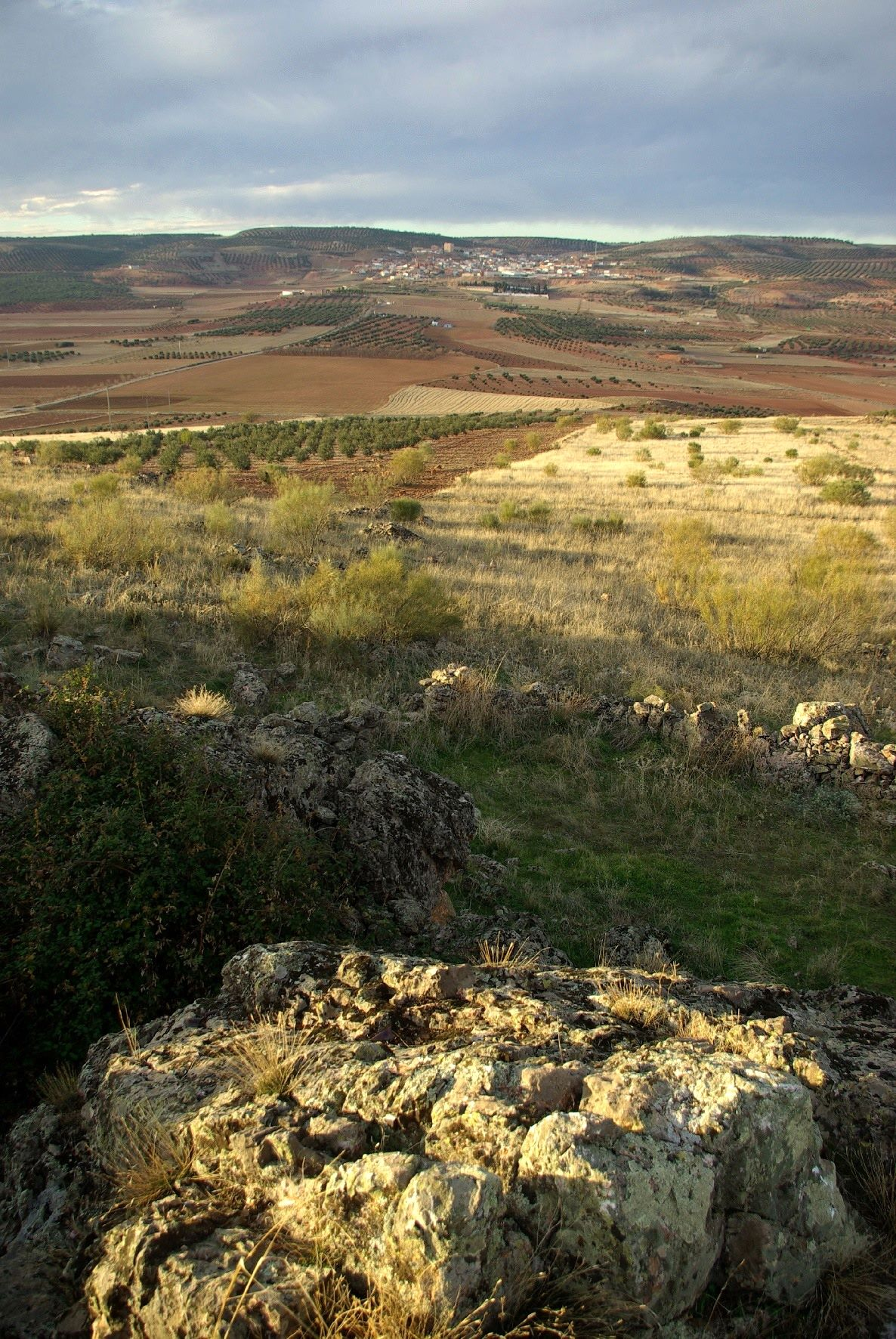 5. Panorámica de Terrinches. Campo de Montiel. Autor, Antonio Jimeno