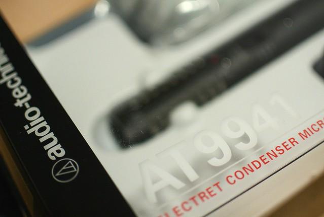 audio-technica ステレオマイクロホン AT9941   Nikon D7000 2014年3月20日