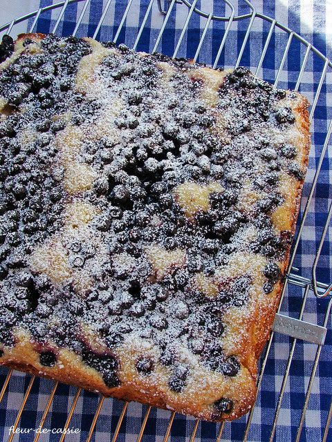 лимонный пирог с черникой 1