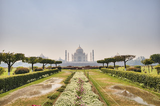 View of Taj Mahal from Mehtab Bagh_4