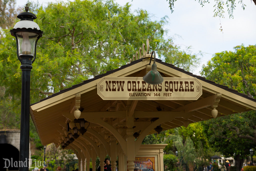 New Orleans Square Railroad Station - Disneyland