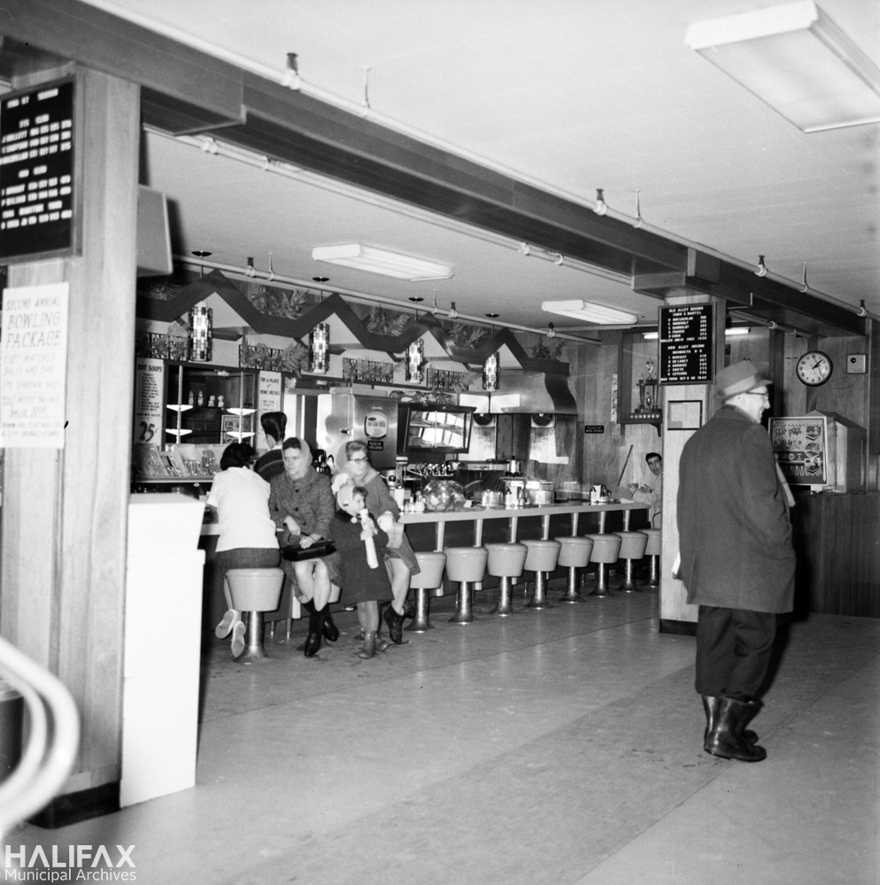 Unidentified lunch counter, demolished to make way for Scotia Squre