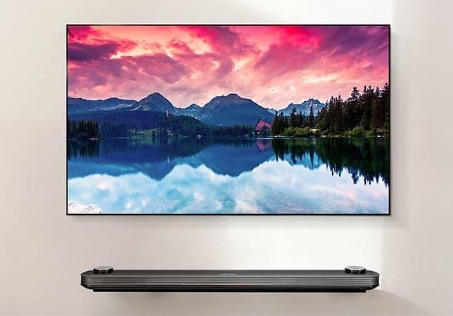 LG OLED TV W7 2017