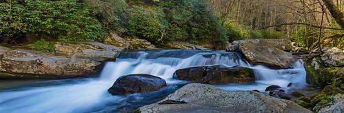 baxtercreek baxtercreektrail bridge greatsmokeymountainsnationalpark gsmnp appalachians mountains hike outdoors water waterfall creek northcarolina nationalpark