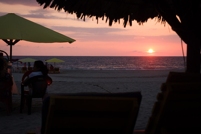 Puerto Escondito Beach sunset-4