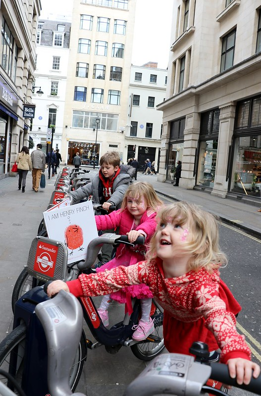 kids on boris bikes