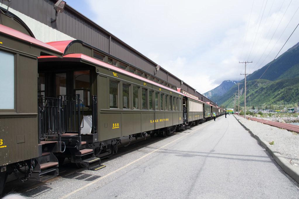 White Pass and Yukon Route railroad excursion in Skagway