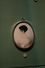 Pendant with miniature painting