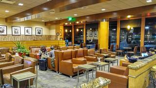 Alaska Lounge at LAX