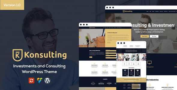 Konsulting WordPress Theme free download