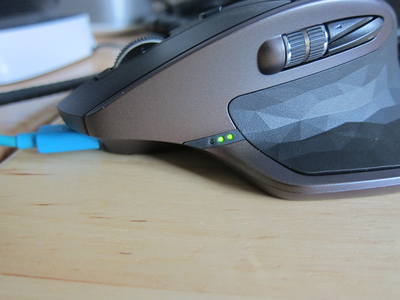 Logitech MX Master Wireless Mouse - Charging