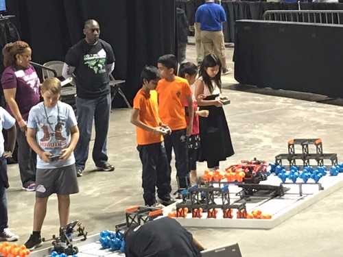 VEX IQ Iowa National competition