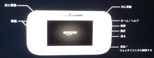 Wii U のAmazonビデオアプリ操作方法