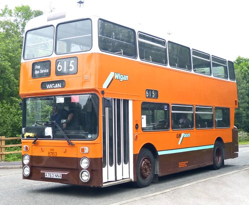A763 NNA 'GM Buses' No. 8763 Leyland Atlantean / Northern Counties on Dennis Basford's 'railsroadsrunways.blogspot.co.uk'