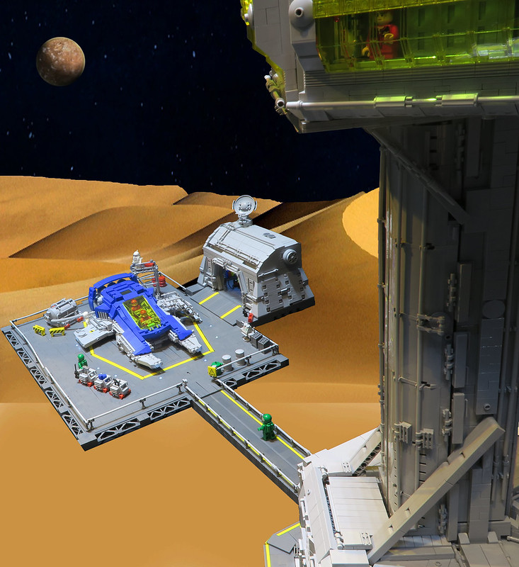 Control Tower and Landing Pad