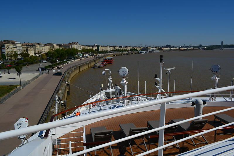 """Escale inaugurale """"LE SOLEAL"""" à Bordeaux, 20 avril 2017"""