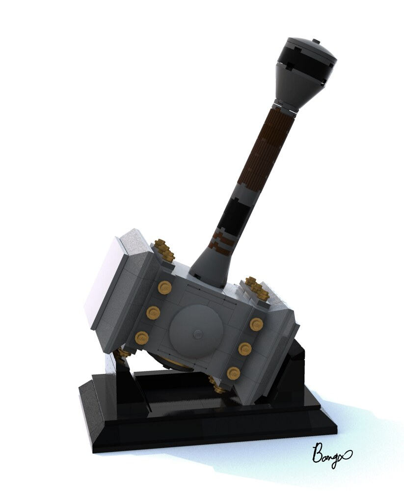 Doom hammer (custom built Lego model)