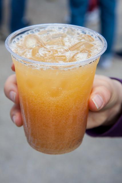 Apple and ginger soda, Brooklyn Soda Works