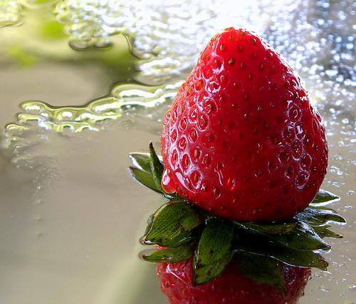 Wet Strawberry