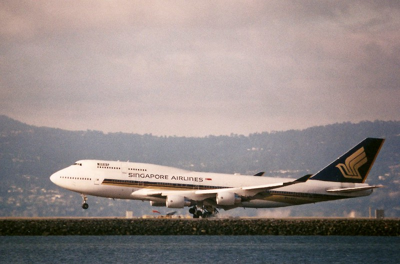 Boeing 747-400, Singapore Airlines SFO widebody