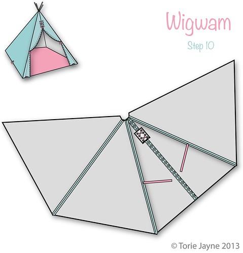 Wigwam Step 10