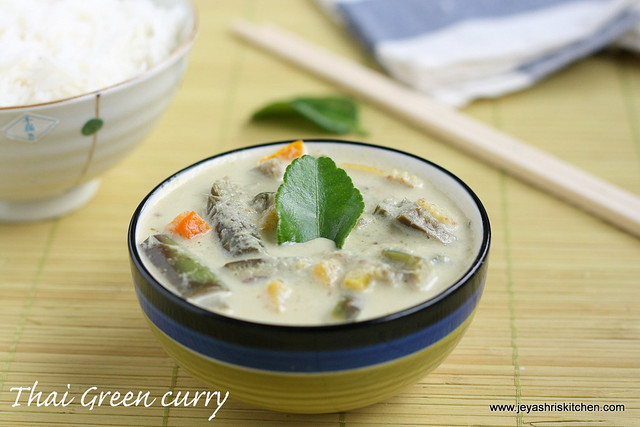 Thai green curry 2
