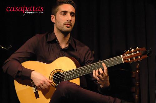 Antonio Sánchez a la guitarra. Foto: Martín Guerrero