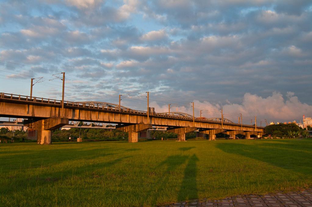 從清晨到日暮(高樹舊鐵橋溼地公園)