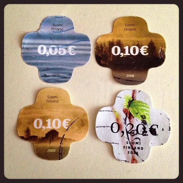 Day 11: different shape #finland #postagestamp #postalsociety #psjune #challenge #scavengerhunt #shape #suomifinland
