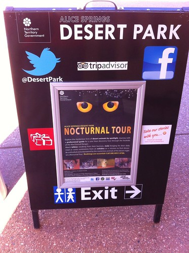 How to connect with the Desert Park at Alice Springs