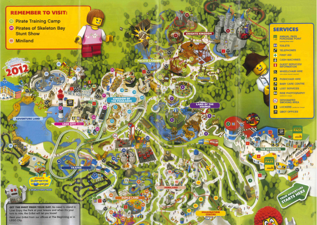 Legoland Windsor 2011 Park Map Legoland Windsor 2011 Park Flickr