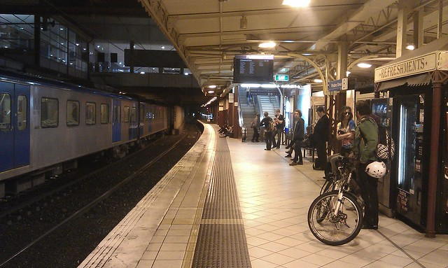 Waiting for the last train to Frankston