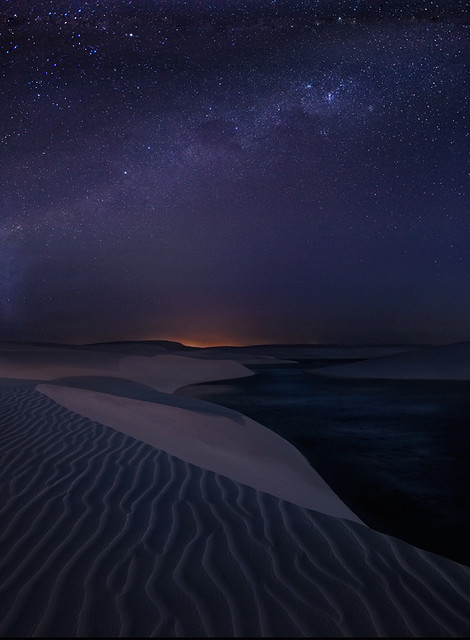Starlight Dunes by Michael Anderson