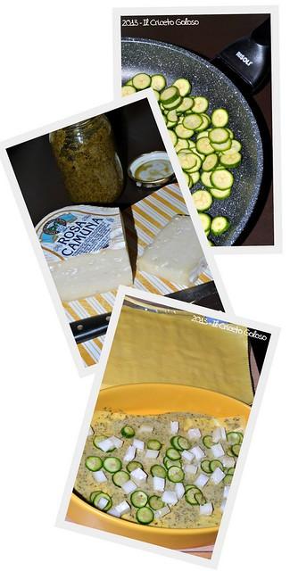 3-Lasagne al pesto, zucchine e rosa camuna