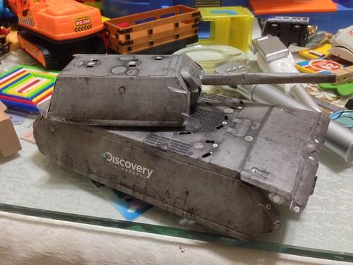 史上最難組之紙模型-紙戰車