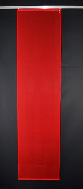 fl chenvorhang schiebevorhang schiebegardine rot 60 x 240 cm ebay. Black Bedroom Furniture Sets. Home Design Ideas