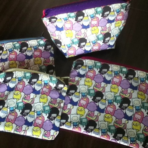 I'm so excited about these Adventure Time pouches!! #AdventureTime #LSP