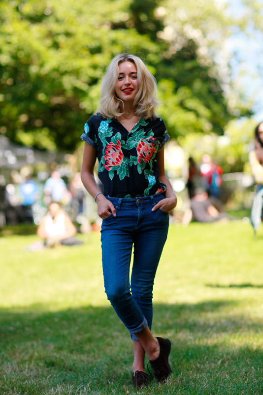 isabella_bb Burger Boogaloo, Mosswood Park, Quick Shots, street fashion, street style, women,