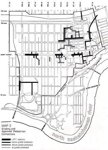 Downtown Pedway c. 1980