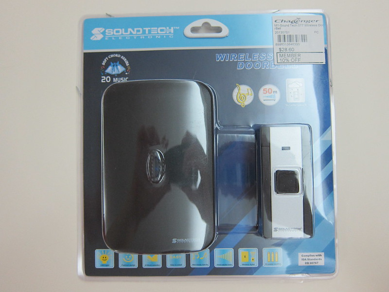 SoundTeoh No. 77 Wireless Doorbell - Packaging Front