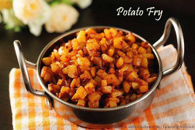 Dry potato fry
