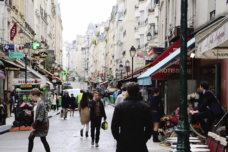 On Rue Montorgueil
