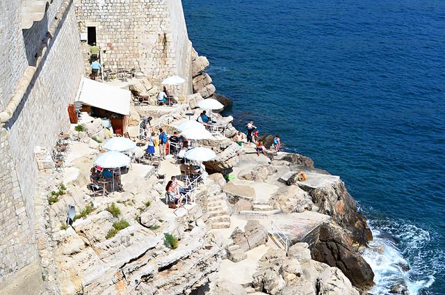 Café Buza, Dubrovnik, Croatia